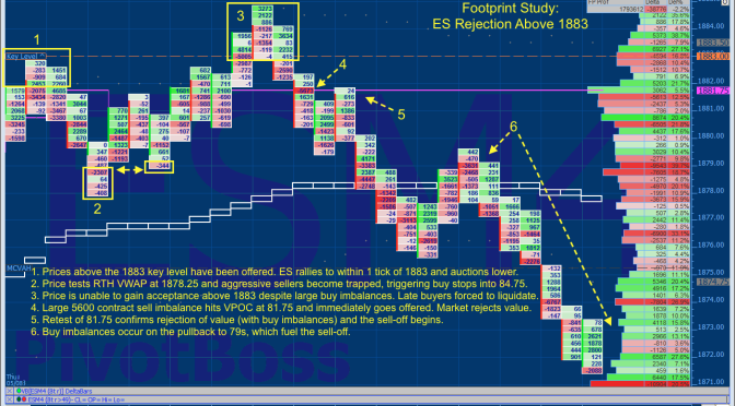 Studying the Reversal at 1883 ES