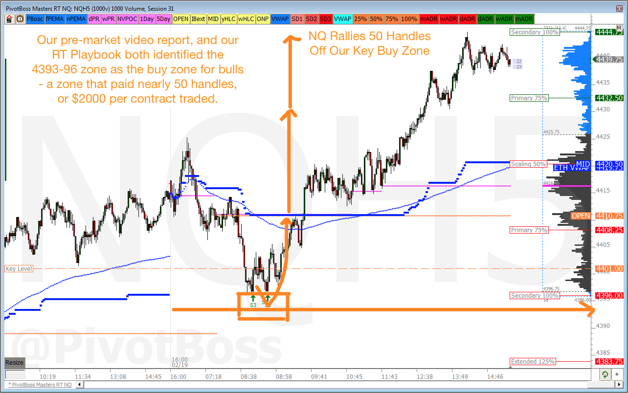 PivotBoss EMini Analysis